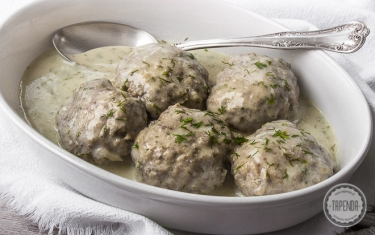 Polpette in salsa all`aneto
