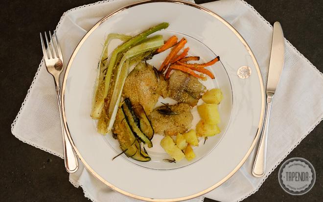 Merluzzo Pollack Al Forno Con Vegetali Ricetta Tapendait
